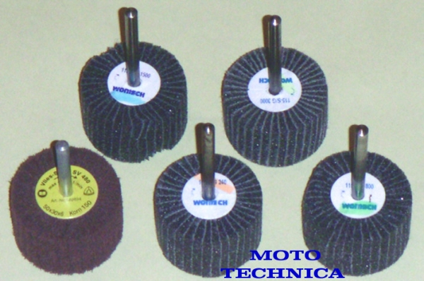 Vlies-Mop-Set, 5-tlg, 50x30x6mm, in Korn: 150,240,800,1500,3000